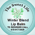 WINTER BLEND LIP BALM - WINTER BLEND LIP BALM