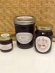 Blueberry Gourmet Jelly that is made from Blueberry Wine found in the vineyards of North Carolina.