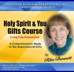 Course CD - Holy Spirit & You Gifts Course Preview CD Holy Spirit & You Gifts Course Preview CD
