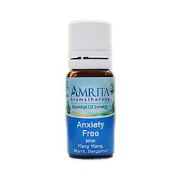 Anxiety Free Essential Oil Blend Particularly helpful in easing anxiety. Soothing and relaxing. Relieves stress and irritability, supporting a state of peace and calm Size: 10ml
