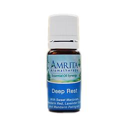 Deep Rest Essential Oil Blend Calming. Facilitates relaxation and sleep; may be used night or day for relief from stress. Size: 10ml