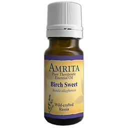 Birch, Sweet Essential Oil Betula alleghensia Wildcrafted, Wood, Russia Birch is an anti-inflammatory, anti-spasmodic and antiseptic oil and is excellent for massaging sore muscles, sprains and painful joints. Size: 10ml