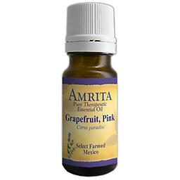 Grapefruit, Pink Essential Oil Citrus paradisi Farmed, Peel, USA Grapefruit has a cool, dry, uplifting and reviving scent that stimulates digestion and curbs the appetite. Size: 10ml