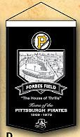 Forbes Field Banner 100% Wool Banner 18w x 24 h