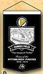 Forbes Field Banner - 100% Wool Banner 18w x 24 h