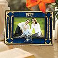University of Pittsburgh Photo Frame - University of Pittsburgh Art Glass Photo Frame - Horizontal fits 5h x 7w