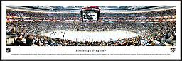 Consol Energy Center Home of the Penguins Panoramic Photograph Consol Energy Center Home of the Penguins Panoramic Photograph 14h x 40w framed in Nielsen black metal with glass