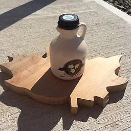 Pint NYS Pure Maple Syrup One pint of NYS Pure Maple Syrup in a plastic jug