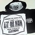 Blk & White Package - Heavy Weight Black Hoodie, Black & White Hat w/Black & white T shirt