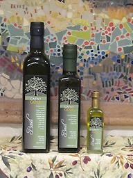 Basil Co-pressed Olive Oil available in 60ml, 250ml, 500ml- see details