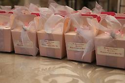 Elegant Wedding Favors per 50 (Sheryl and Donald) Elegant Wedding Favors for Your Special Day. Send your wedding guests home with the splendid taste of New Orleans, Rosalyn's Pralines. A favor tied in perfect delight!