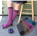 Alpaca Striped Boot Socks! - New colors added to one of our most popular styles!
