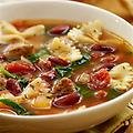 Italian Soup Mix and Recipe - Brown Italian Sausage, add water, soup mix, crushed tomatoes and a bag of frozen Westpac Mediterranean vegetables or mixed vegetables and kidney beans. Great Italian flavor.