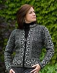Baltic Alpaca Sweater - Baltic design is so beautiful in this alpaca blend sweater!