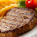 Hickory Charcoal Steak Rub - Use on the gas grill or George Foreman, gives a flavor like you charcoaled but you didn't, great carmelizing and charcoal flavor.
