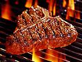 Grilin' Steak Rub in a Jar - Best seller. Great rub for grilled steaks, special seasoning gives steak an awesome flavor, complements A-1 and Heinz 57.