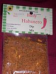 Holy Habanero Dip Mix - Hot flavor of a mixture of habanero, jalapeno, and horseradish to give a great taste. Mix with 16 ounce container of sour cream.