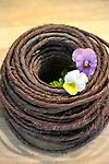 Rustic OASIS Wire - Brown - 70' Roll - With a very natural look and feel, Rustic Wire offers limitless possibilities in flower arrangements: bind stems of a bouquet, accent the exterior of a vase, create sculptural designs, etc.