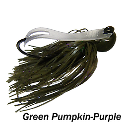 Camelback Jig 005 STYLE: Flip-N-Swim -- COLOR: Green Pumpkin Purple