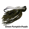 Camelback Jig 005 - STYLE: Flip-N-Swim -- COLOR: Green Pumpkin Purple