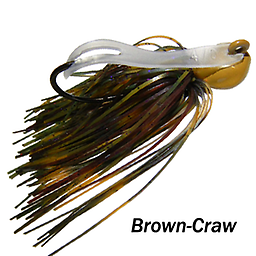Camelback Jig 010 STYLE: Flip-N-Swim -- COLOR: Brown Craw
