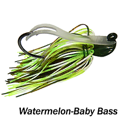 Camelback Jig 013 STYLE: Flip-N-Swim -- COLOR: Watermelon Baby Bass