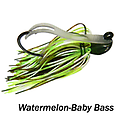 Camelback Jig 013 - STYLE: Flip-N-Swim -- COLOR: Watermelon Baby Bass