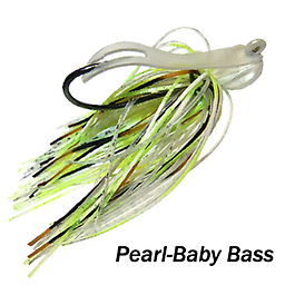 Camelback Jig 016 STYLE: Flip-N-Swim -- COLOR: Pearl Baby Bass