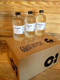 Case of 16 oz bottles of 100% Pure Gum Spirits of Turpentine Twelve 16 oz glass bottles of 100% Pure Gum Spirits of Turpentine (FREE SHIPPING via FedEx Ground) PLEASE INCLUDE A PHYSICAL ADDRESS WHEN PLACING YOUR ORDER.