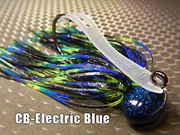 CB-Football Jig 052 STYLE: Football -- COLOR: Electric Blue