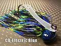 CB-Football Jig 052 - STYLE: Football -- COLOR: Electric Blue