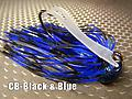 CB-Football Jig 053 - STYLE: Football -- COLOR: Black & Blue