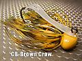 CB-Football Jig 054 - STYLE: Football -- COLOR: Brown Craw