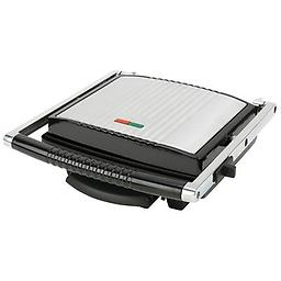 "BN-4-Slice Panini Grill Features 120v;, 1500 watts; non-stick coating; power and ready light indicator; drip tray; cord wrap; and ABS non-slip feet. Measures 13-3/4"" x 4-1/4"" x 13-3/8"". Limited 5 year warranty. Gift boxed."