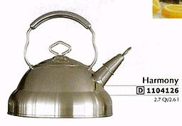 Harmony Kettle by Berghoff 2.7 Qts Stainless steel 18/10 kettle From the famous german brand, carry a guaranty of 10 years under normal use 1104126
