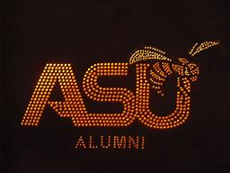 ASU Body Shirt With Stones Old Gold Stones