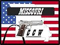 (10923) Sep 23 - CCW - Conceal and Carry a Weapon - 9am-5pm. Concealed Carry Endorsement – Firearms Safety Training Course meets the mandatory training requirements established by Missouri State Statute.