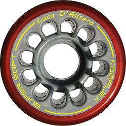 D'Alisera Freestyle Wheels - 57mm Medium Designed to meet the needs of professional athletes. They allow an incredible grip at high speeds.