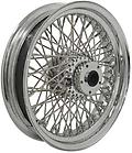 "80 SPOKE WHEELS FOR BIG TWIN & SPORTSTER - DNA Motorcycle Products Chrome Plated Rear Wheel, 16"" x 3.50"", 3/4"" I.D. - Tapered Bearing Fits Big Twin 1986/1999 (except FLT models) & Sportster 1986/1999 Spoke nipple sealing process permits use of"