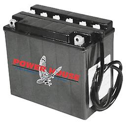 """12 VOLT LEAD ACID BATTERIES FOR ALL MODELS Fits Sportster 1979/1996, XLCR 1977/1978, FX Electric Start models 1973/Later, FXR 1982/Later, Softail 1984/1990 240 Cold Cranking Amps, 19 Standard Amp Hours 6 15/16"""" Long x 4"""" Wide x 6 1/8"""" Tall Ter"""
