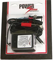 """.75 AMP AUTOMATIC CHARGER FOR 12 VOLT BATTERIES Power Station Measures 2"""" long x 2"""" wide x 3"""" tall"""