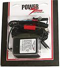 ".75 AMP AUTOMATIC CHARGER FOR 12 VOLT BATTERIES - Power Station Measures 2"" long x 2"" wide x 3"" tall"