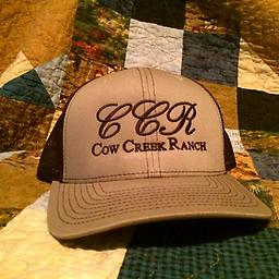 Cow Creek Ranch Cool Cap/ Brown & Tan Cow Creek Ranch Cap: Only available here!