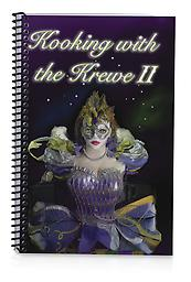 Kooking With The Krewe II - (For Pick Up Only) Krewe of Janus 2nd Edition Cookbook - Over 300 Pages with Over 500 Recipes. - Cost per Each