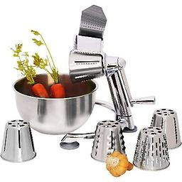Vegetable Chopper with 5qt Bowl Make effortless work of chopping any firm vegetable, in five impressive styles.