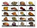 Pub 333GC Gem Chart - Beautiful full color gem chart. Includes most gemstones in rough and cut forms. Printed on glossy 80 lb stock. A must have for gem hunting enthusiasts!