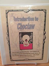 Introduction to Choctaw 2 Cds and 55-page workbook. Charley Jones will have you speaking Choctaw before you know it! Charley was a beloved member of the Choctaw Nation of Oklahoma. Price included shipping.