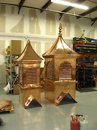 """Add finial or make weathervane ready Adding finial to cupola or to make weathervane ready. Typically a 24"""" Standard finial will be mounted"""