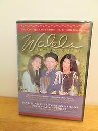 Walela, Live in Concert Rita Coolidge with her sister Priscilla and Priscilla's daughter Laura Satterfield perform an inspirational concert for not just Cherokees but all who love beautiful harmonies and music. One hour DVD.