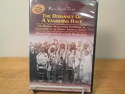 The Romance of a Vanishing Race DVD contains 3 restored historical films on Indian life of 100 years ago. Filmed in 1913, 1916 and 1921. Price includes shipping.